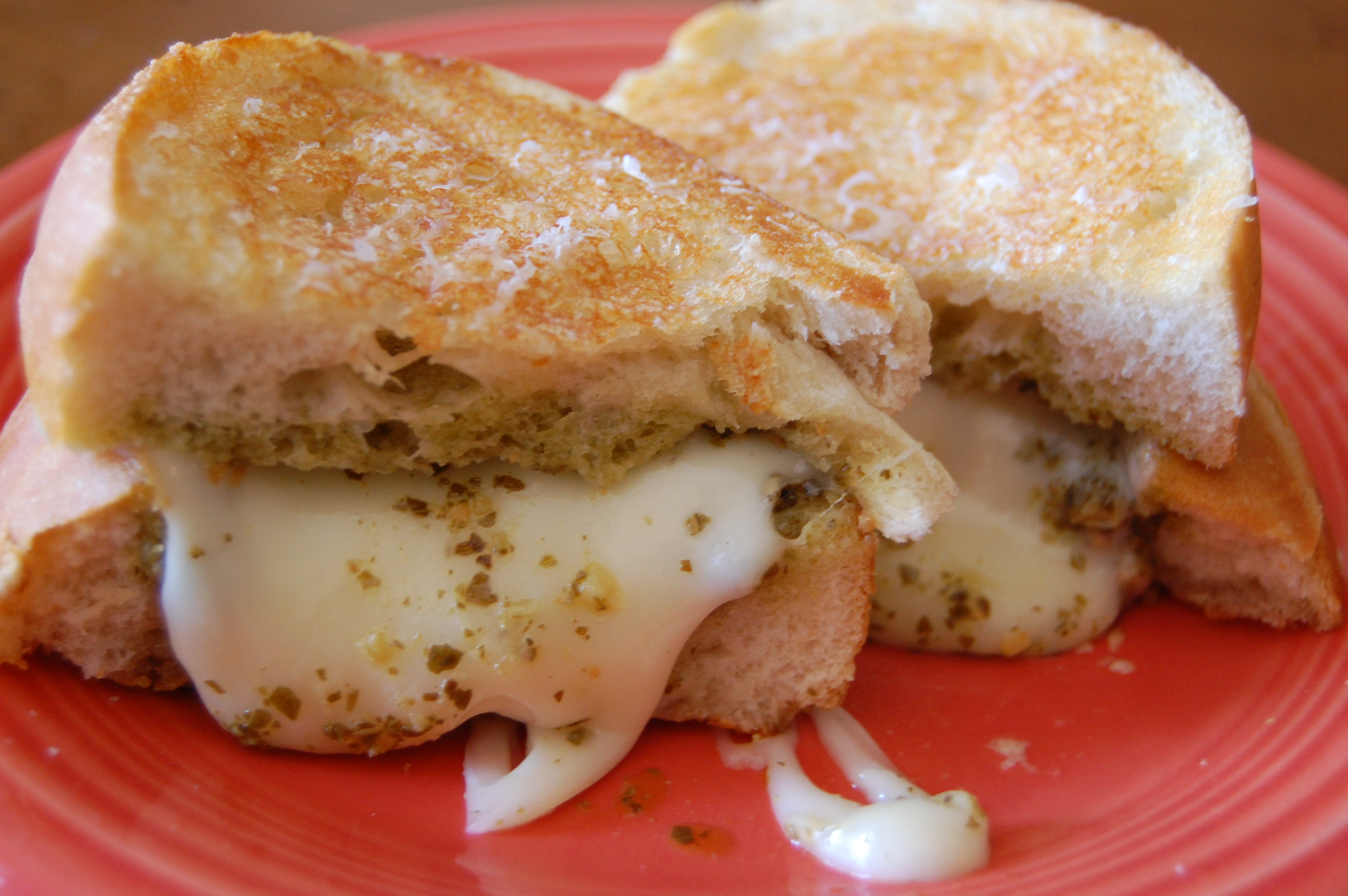 ... Grilled Cheese Month and today (ahhh) is National Grilled Cheese Day