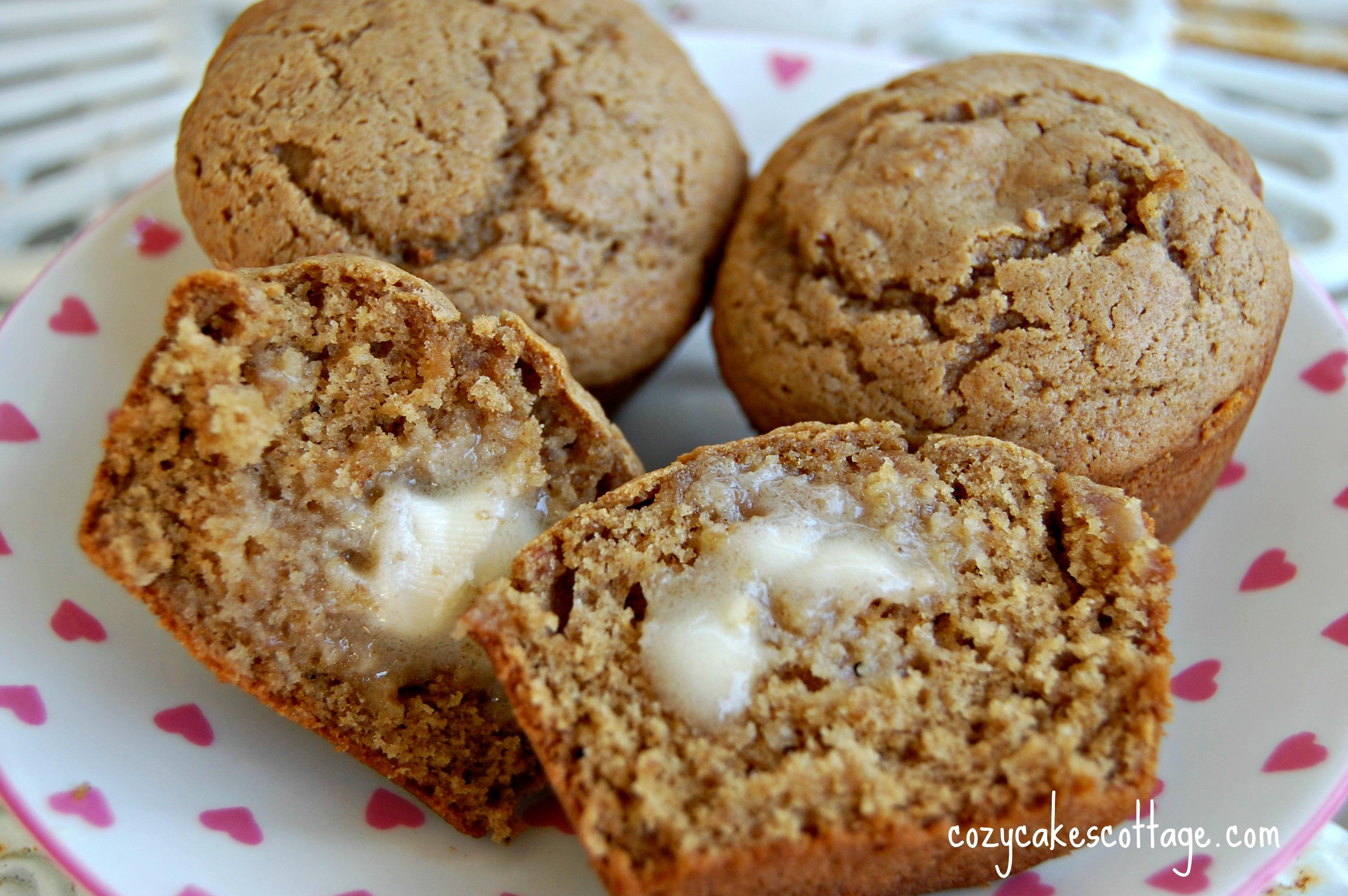 Recipe: Applesauce muffins | Cozycakes Cottage
