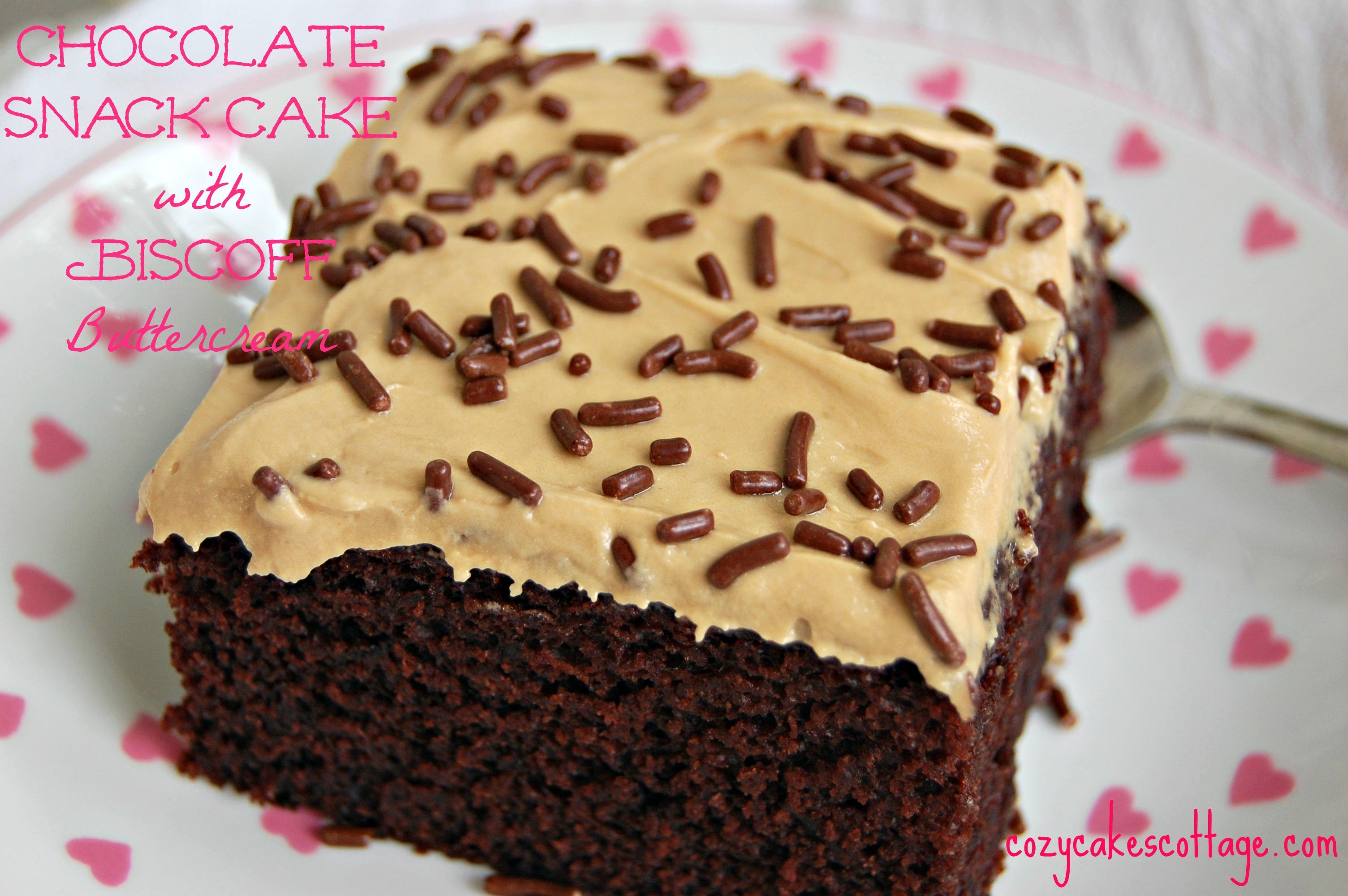 Biscoff Toffee Ice Cream Cake Recipe — Dishmaps
