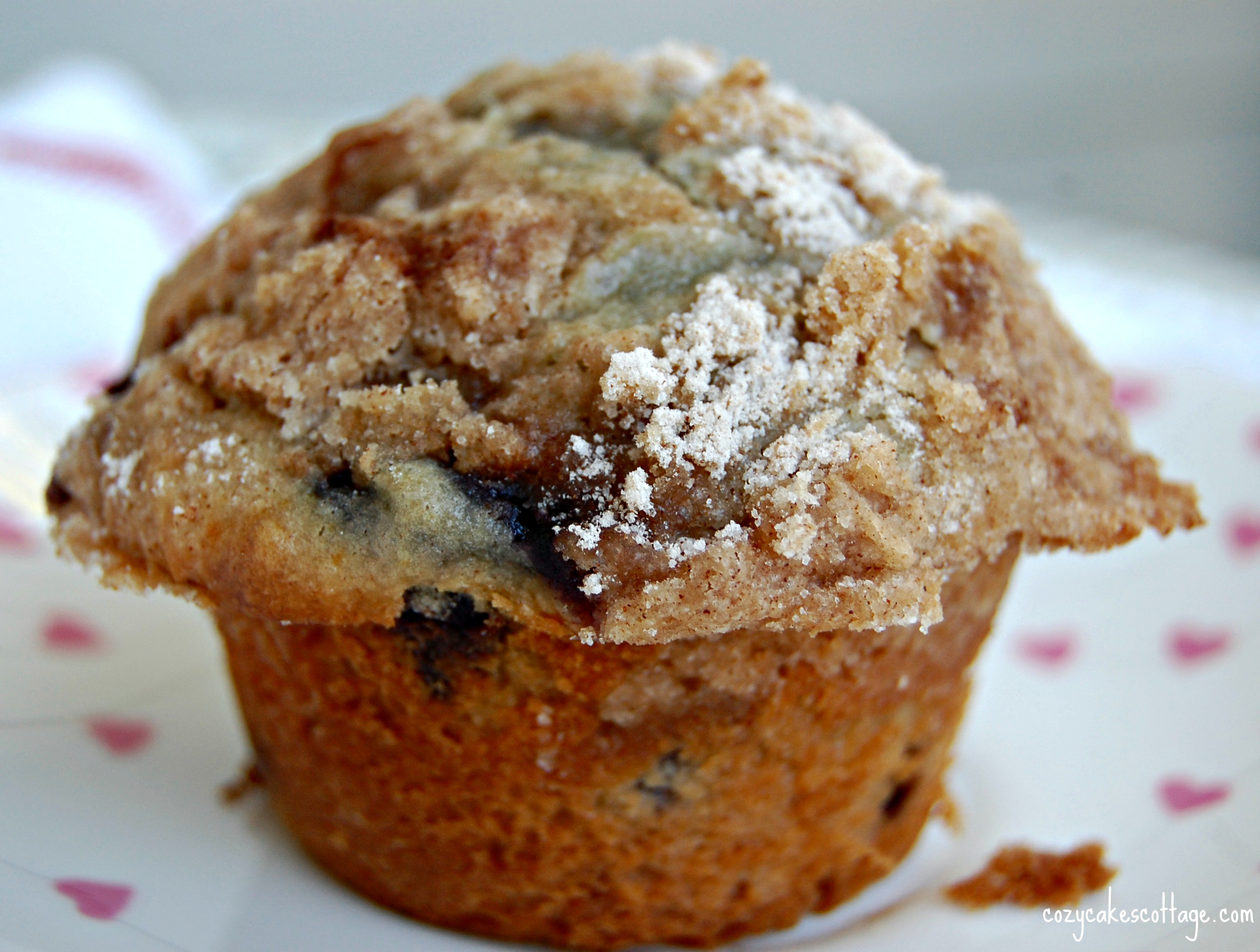 blueberry cream muffin whole