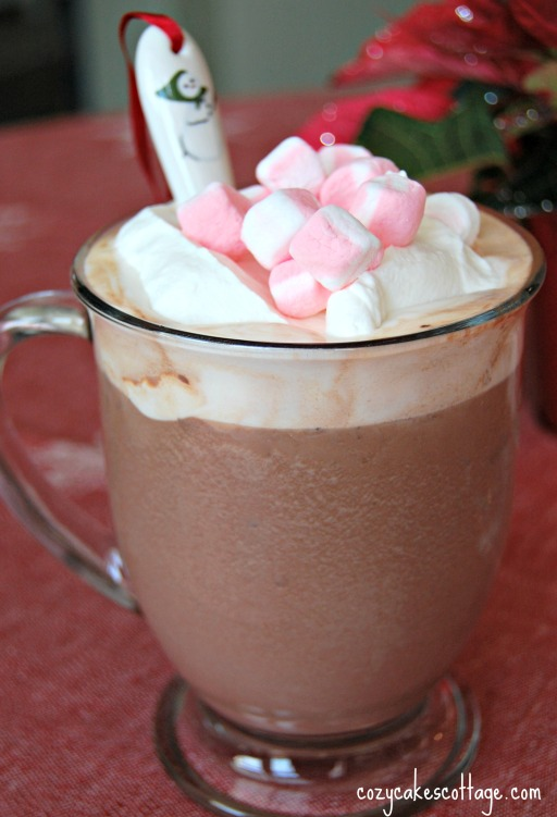 creamy dreamy hot cocoa 5