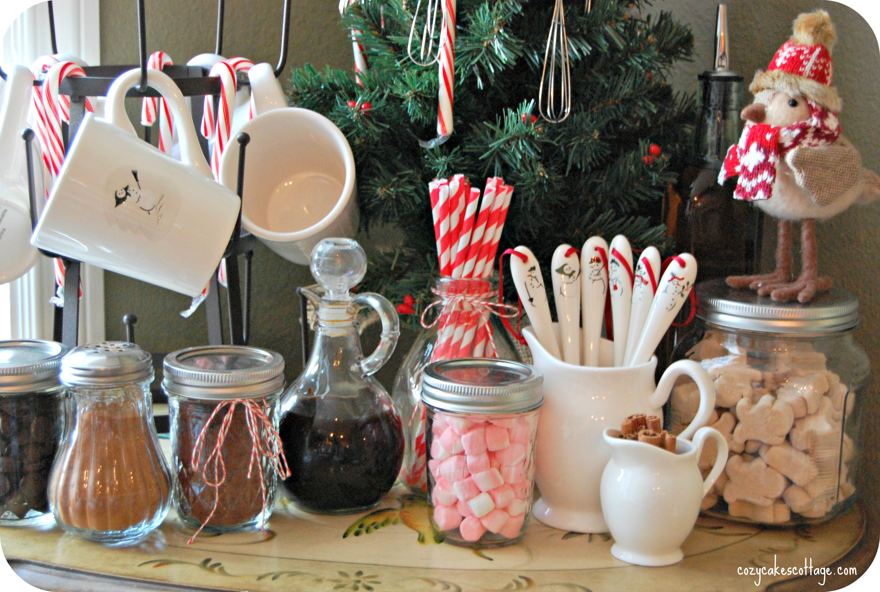 hot cocoa bar middle