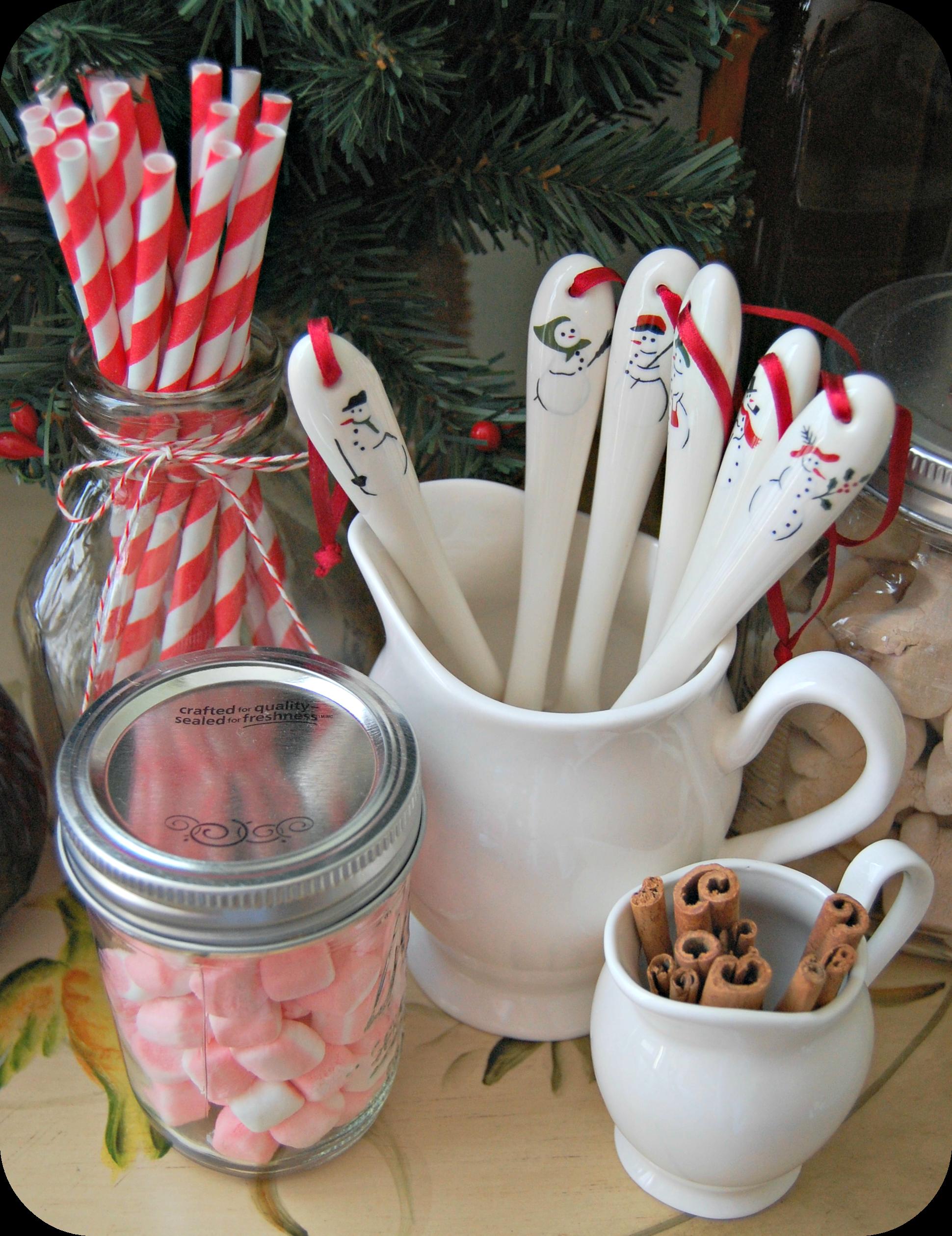 hot cocoa bar spoons