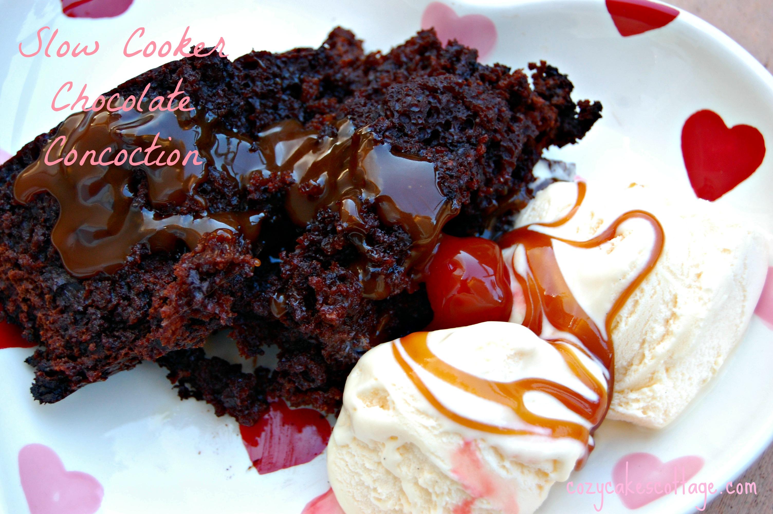 chocolate concoction