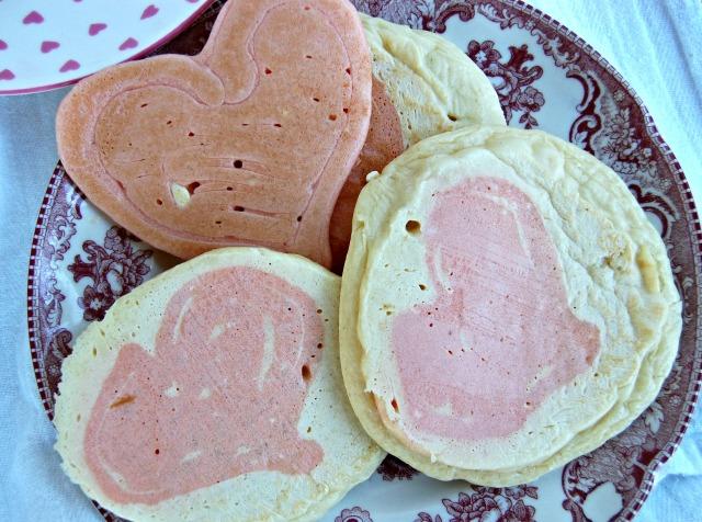 heart pancakes 2