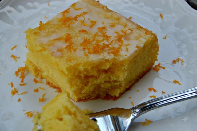 Meyer Lemon Cake with Lemon Buttermilk Glaze: Cozycakes Cottage
