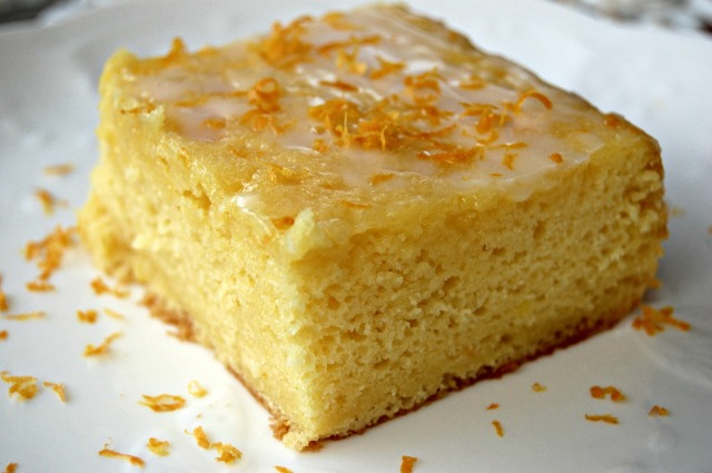 Meyer Lemon Cake with Lemon Buttermilk Glaze (2): Cozycakes Cottage