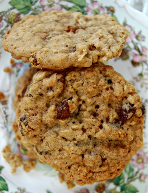 Goal Break Chewy Oatmeal Raisin Cookies (3): Cozycakes Cottage