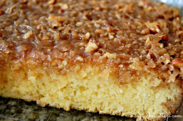 Lazy Daisy Hot Milk Cake: Cozycakes Cottage (whole)