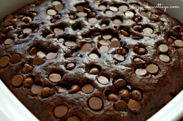 Chocolate Monkey Snack Cake: Cozycakes Cottage
